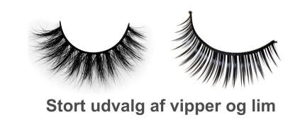 Banner med link til eyelashes vipper