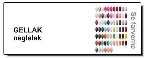 se udvalget af gellak uv neglelak farver