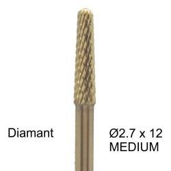 Bit diamant 2.7 x 12mm