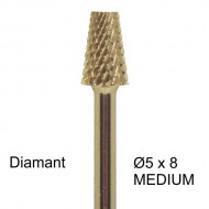 Bit diamant 5 x 8mm 3-uger