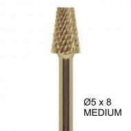 Bit carbide 5 x 8mm 3-uger