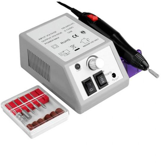 Rubust og billig elektrisk neglefil