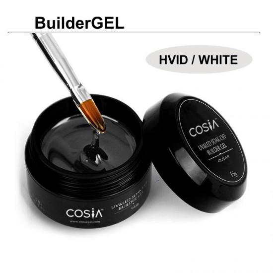 BuilderGEL hvid 15ml.