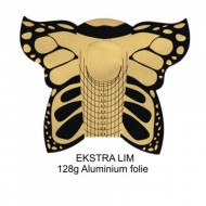 Negleskabelon 300stk Butterfly GOLD
