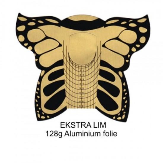 Negleskabelon 300stk Butterfly GOLD