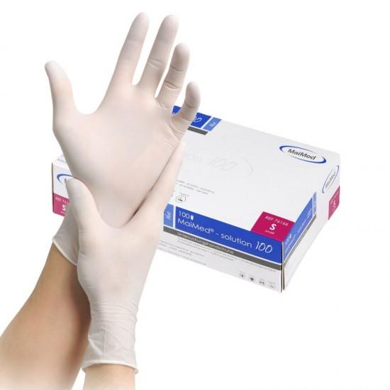Handsker Nitril HVID S