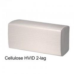 Papirservietter hvide 270 blade 2lags