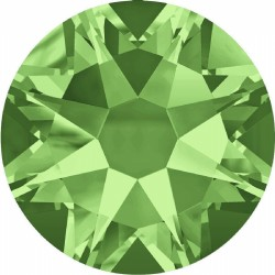 Krystaller uægte SS6 LYS PERIDOT