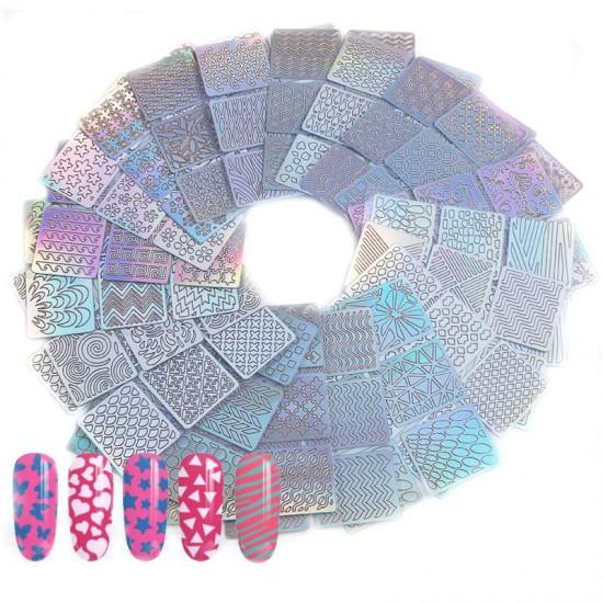 Nailart - ark med mønstre