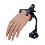 Trænings Øvehånd silicone med klemme