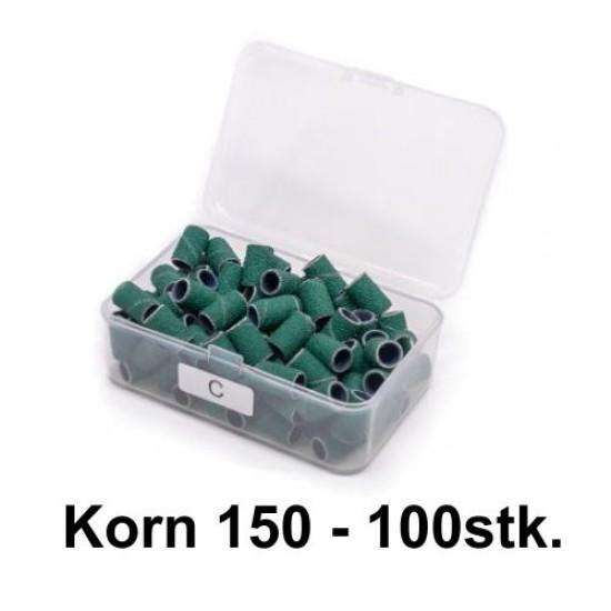 grønne sliberør korn 150 til elektrisk neglefil