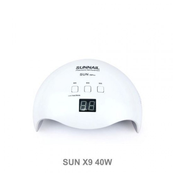 SUN X9 PLUS 40W uv neglelampe