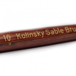 Neglepensel akryl #4 90% Kolinsky
